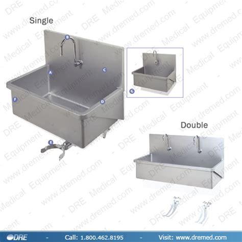 Scrub Up Sink equipment scrub sink