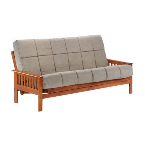 Futon Frames Only by And Day Wood Futon Frame In Hickory