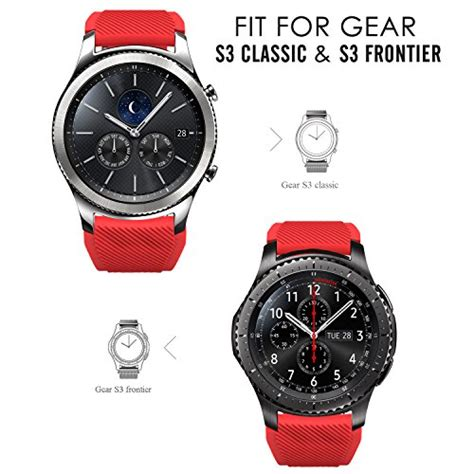 S3 Produk gear s3 frontier classic band moko soft silicone