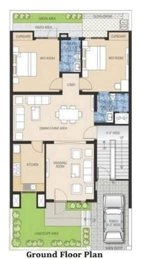 image result  west facing small house plan bhk house