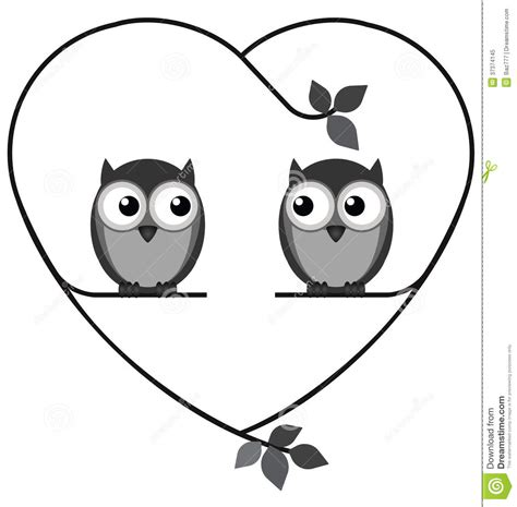 owl lovers owl lovers royalty free stock photo image 37374145
