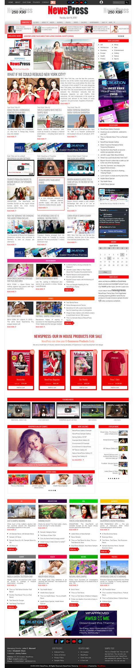 tutorial wordpress magazine theme newspress wordpress magazine themes wordpresss news themes