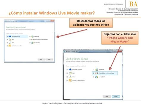 tutorial windows movie maker para windows 8 tutorial c 243 mo instalar windows live movie maker