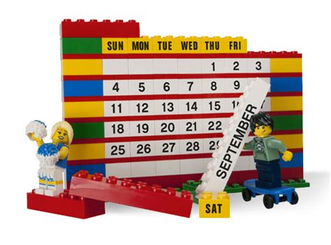 Calendrier Lego Shop Lego Brick Calendar