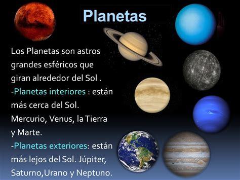 cuales son los planetas que giran alrededor del sol el universo y la tierra ppt descargar