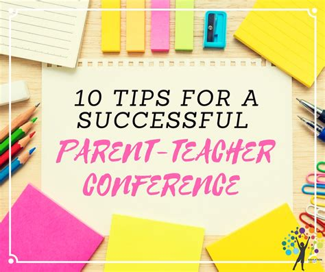 10 Tips For Time Parents by Parent Conference Tips Successful Parent