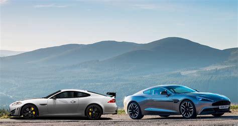 Aston Martin Jaguar by Jaguar Xk Vs Aston Martin Vanquish Daily Car