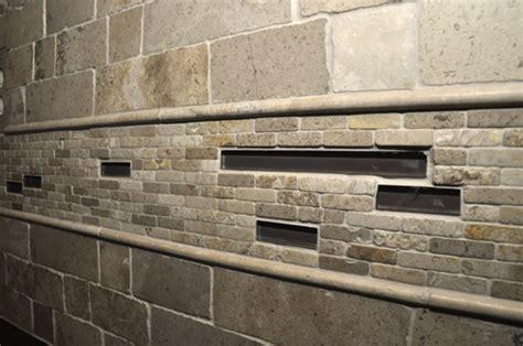 pencil tile backsplash tile design ideas