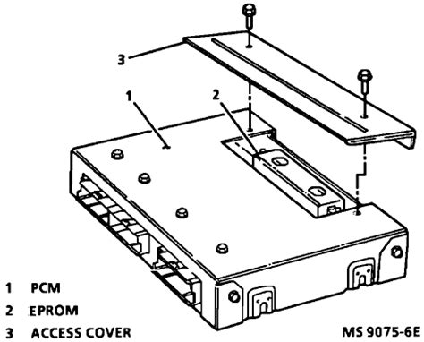 what is the physical location of the ecm for a 1993 chevy