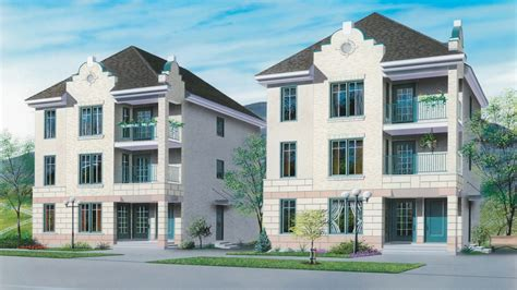 modern multi family building plans multi family house plans designs multi family house plans