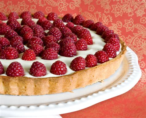 13 Ingredients And Directions Of Raspberry Chocolate Tart Receipt by Raspberry Tart Sweet Treat Recipe From Sweet Basil
