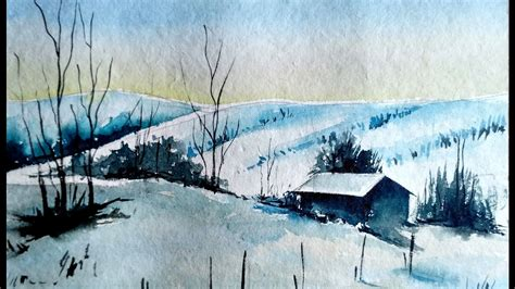 watercolor tutorial mountains how to paint mountains landscape watercolor painting