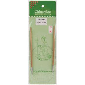 chiaogoo knitting needles reviews chiaogoo premium bamboo 24 circular knitting needles size 6