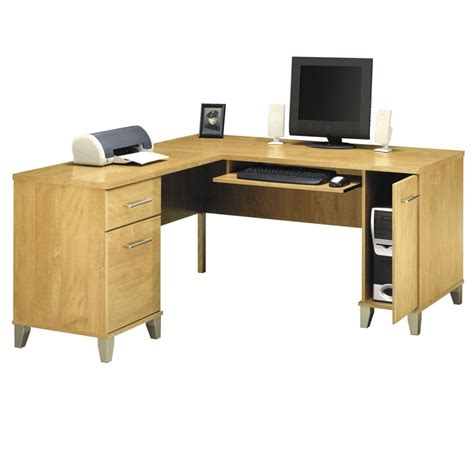 Bush L Shaped Desk Bush Wc81430 L Shaped Desk