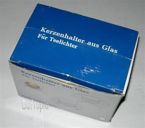 Glas Kerzenhalter Set by Kerzenhalter Candle Holders