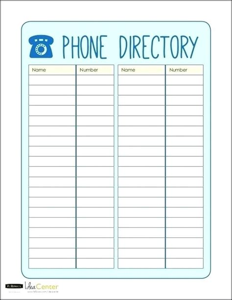 Phone List Template Excel Topbump Club Employee Directory Template Excel