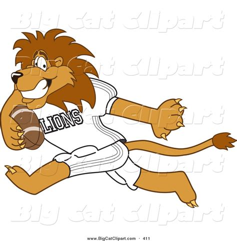 mascot clipart royalty free american football stock big cat designs