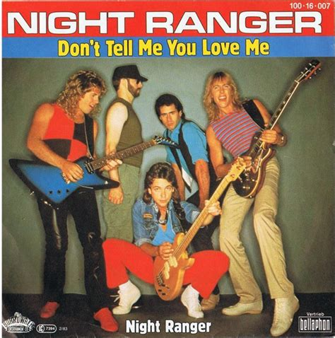 film don t tell me the boy was mad night ranger don t tell me you love me night ranger