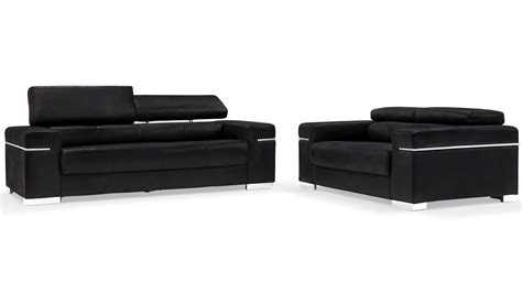 Black Suede Sectional Sofa Black Suede Sofa