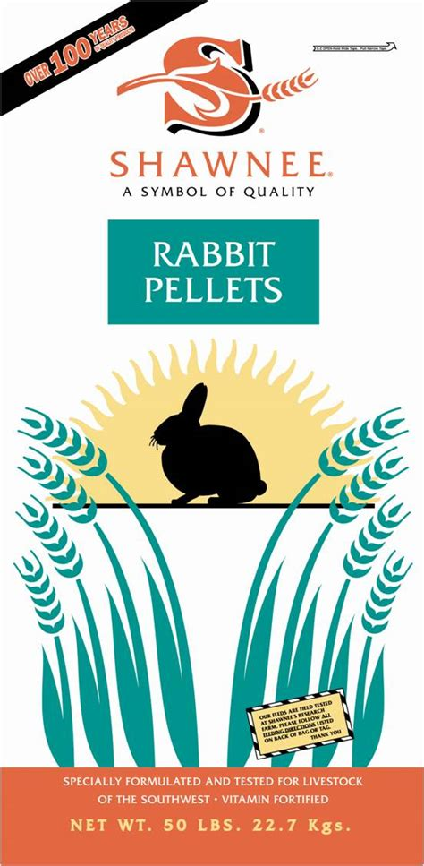 rabbit pellets shawnee milling