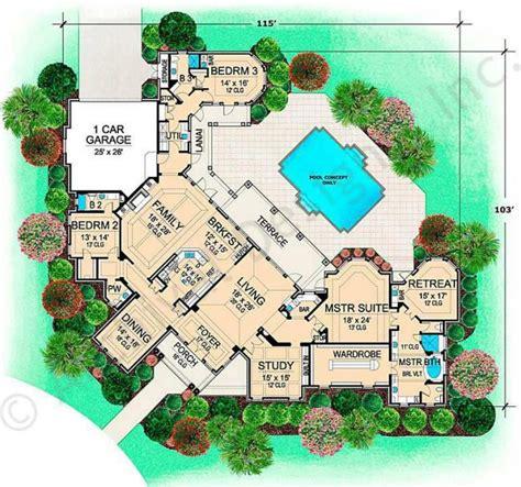 villa home plans villa rica house plan floor plan house