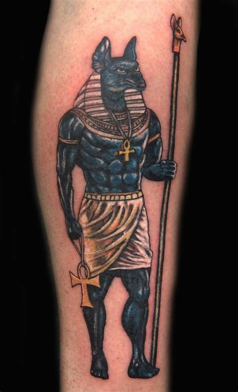 pharaoh tattoos anubis tattoos designs ideas and meaning tattoos for you