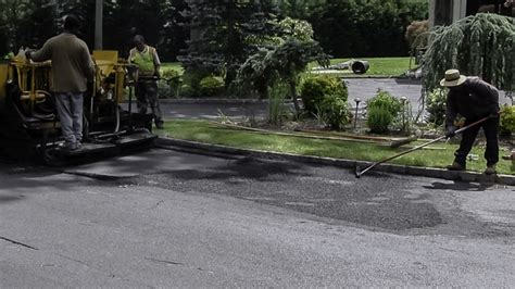 paving contractor long island ny driveway overlay