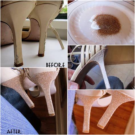 high heel fix how to fix heels with glitters