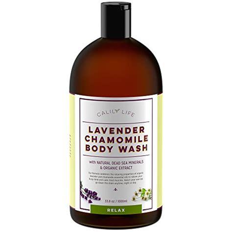 Detox Charcoal Wash Lavender by Calily Organic Detoxifying Charcoal Eucalyptus
