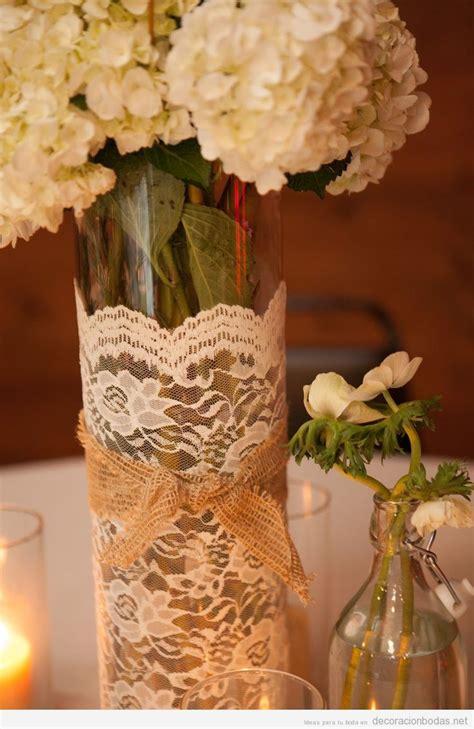 decorar jarrones con esparto jarrones archivos decoraci 243 n bodas