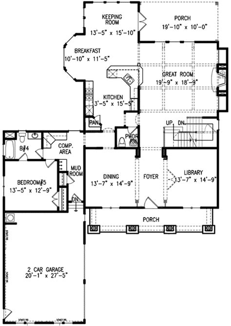 master up floor plans master up with sitting room 15839ge architectural designs house plans