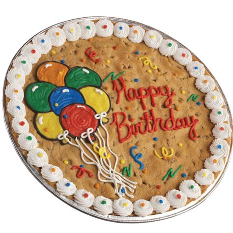 birthday cookie cake cookie cake delivery cookies by
