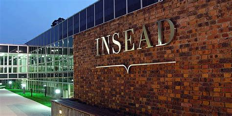 Insead Mba Consulting Club by Expartus Consulting Insead Business School Profile