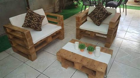 Diy Patio Chair Pallet Patio Chair Set Pallet Furniture Diy
