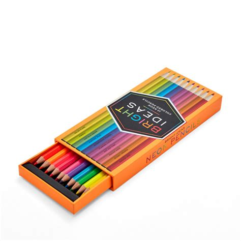 neon in daylight books chronicle books bright ideas neon pencils fossil
