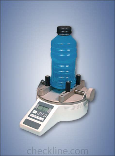 cap torque tester closure torque tester bottle cap