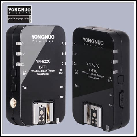 Yongnuo Flash Trigger Yongnuo Yn 622c Yn 622 Wireless E Ttl Hss 1 8000s Flash Trigger 2 Transceivers For Canon