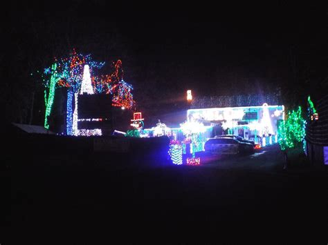 notter bridge holiday park christmas lights