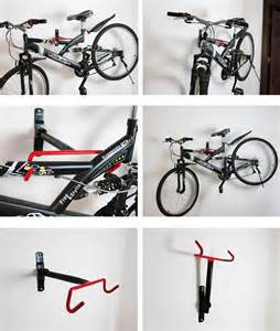 Wall Mounted Bike Racks For Garage by Garage Cycle Bicycle Bike Wall Mount Storage Rack Hanger