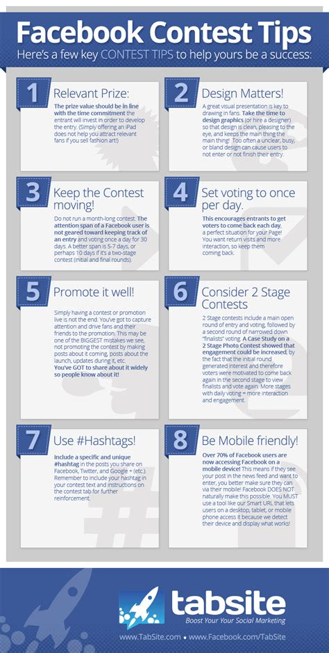8 Tips To That Are by Contest Success Tips Infographic