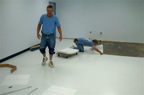 Esd Flooring by Esd Floor Tile Installation Usbid Inc Review