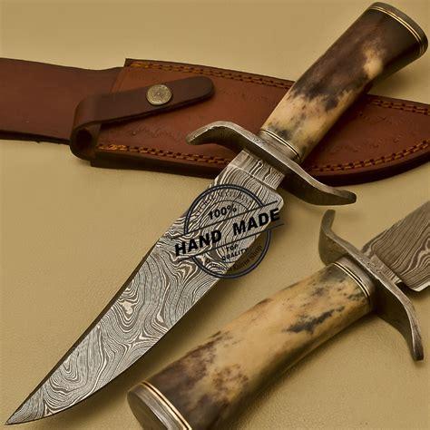 skinner knife damascus skinner knife custom handmade damascus steel