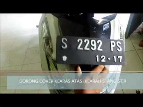 Saklar Lu Depan Vario 125 bongkar cover speedometer ganti saklar lu vario 125