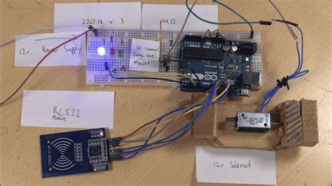gif wallpaper down diy smart lock with arduino and rfid