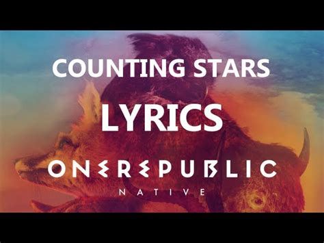 counting stars mp song free download one republic counting stars lyrics video native album hd