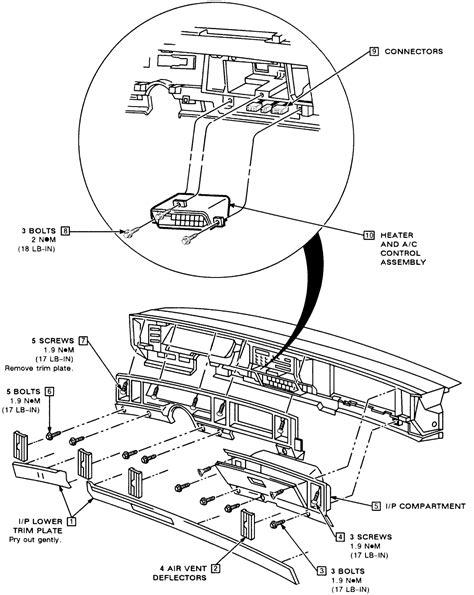 2000 Buick Lesabre Heater Problems 92 Lesabre The Heater Ac Adjustment Climate
