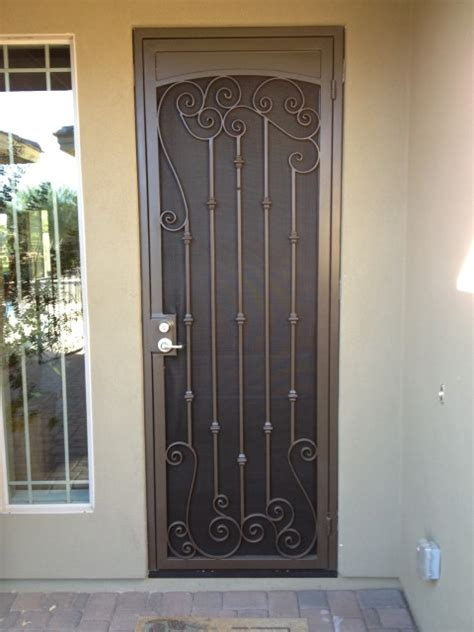 Decorative Security Screen Doors by Security Doors