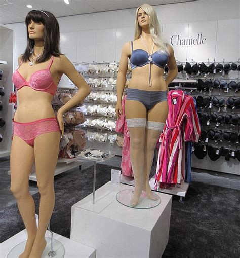 The Mannequins Are Getting Bigger by Larger Sized Mannequins Blamed For Normalising Britain S