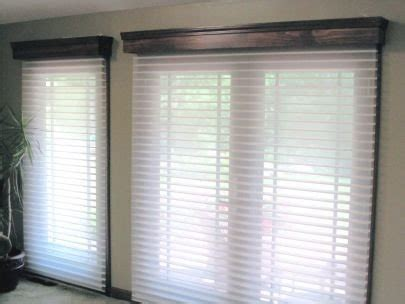 window treatment ideas  french doors motorized window