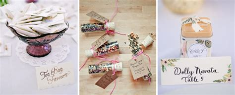 10 fantastic wedding favour ideas from plants to sted